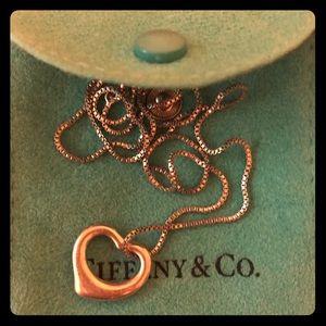 Tiffany's Elsa Peretti pendant with chain